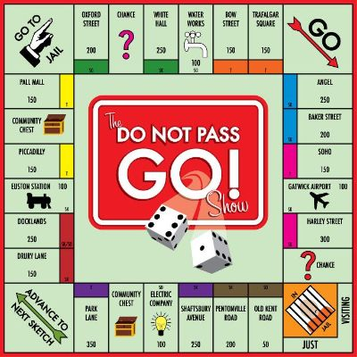 Monopoly pass go card